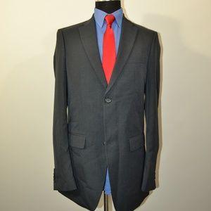 def577f0a701 John Henry 38L Sport Coat Blazer Suit Jacket Dark